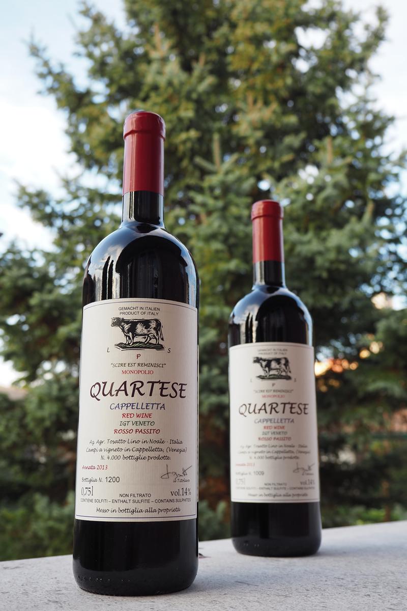 Bottiglie Vino Quartese